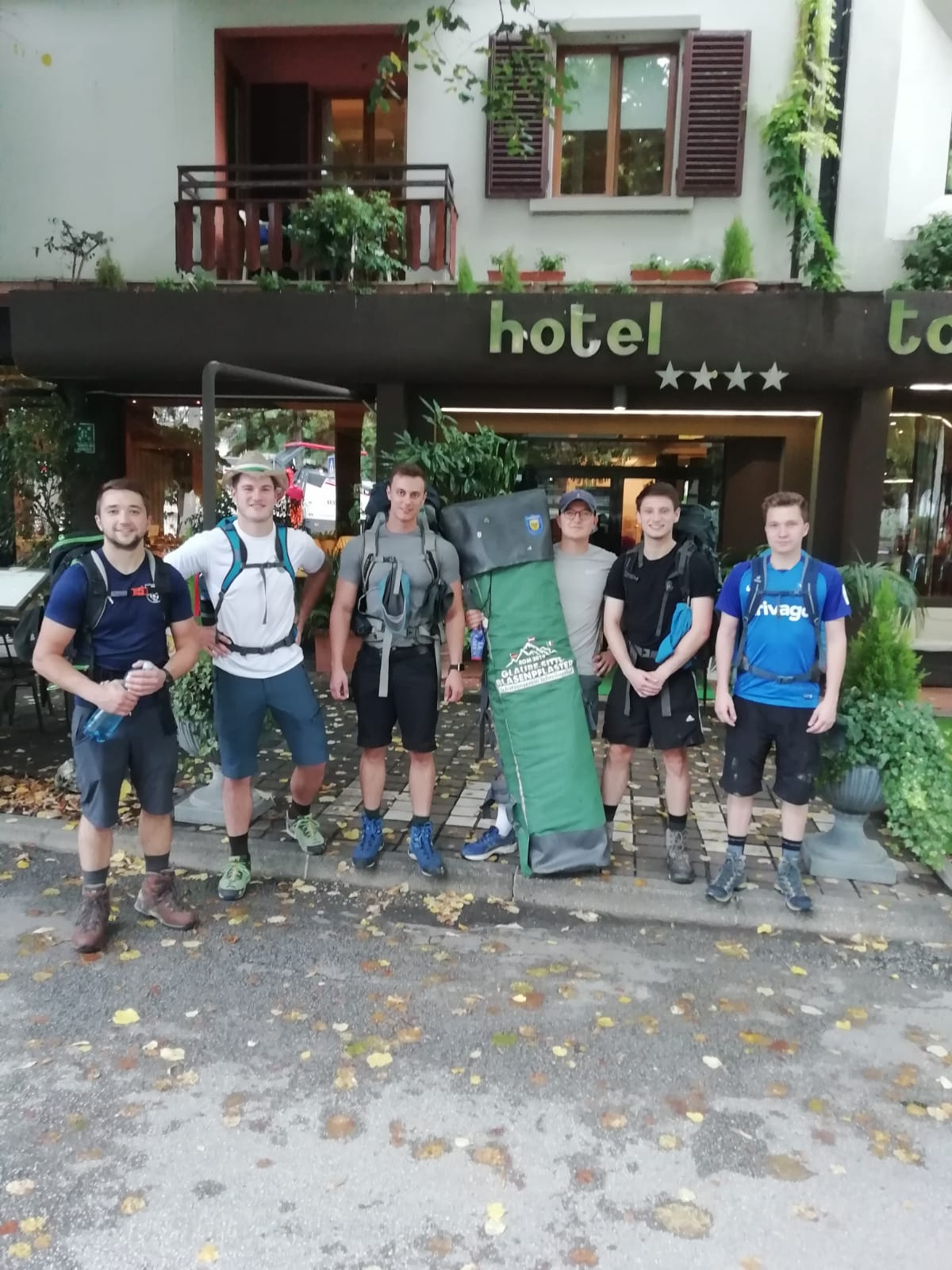 GSB- Tagebuch 24.09.19 – Il Chaotico: Zum Abschluss mal 'ne Bergetappe!