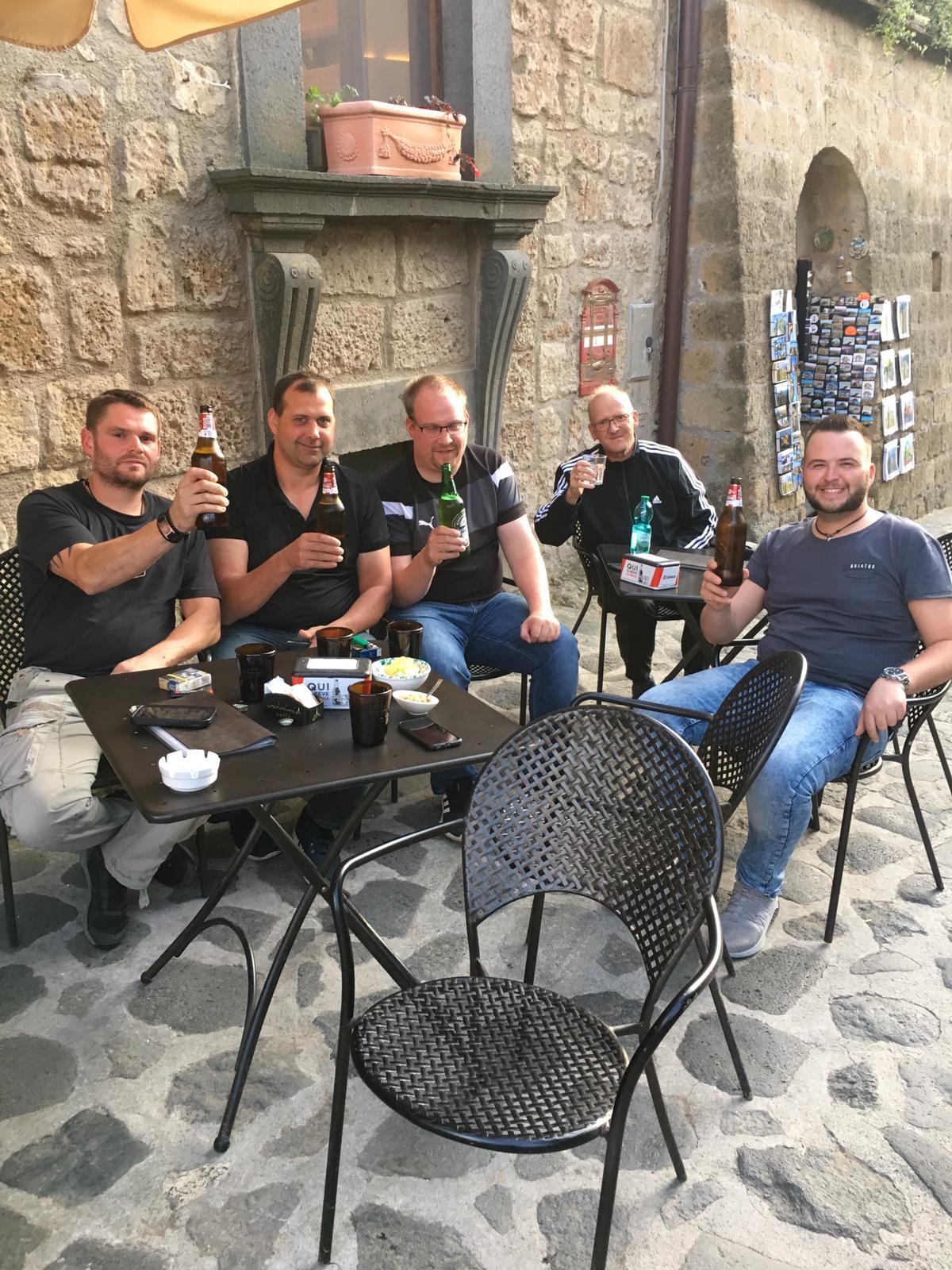 GSB- Tagebuch 05.10.19 – Nach Latium mit Team Kaiser!