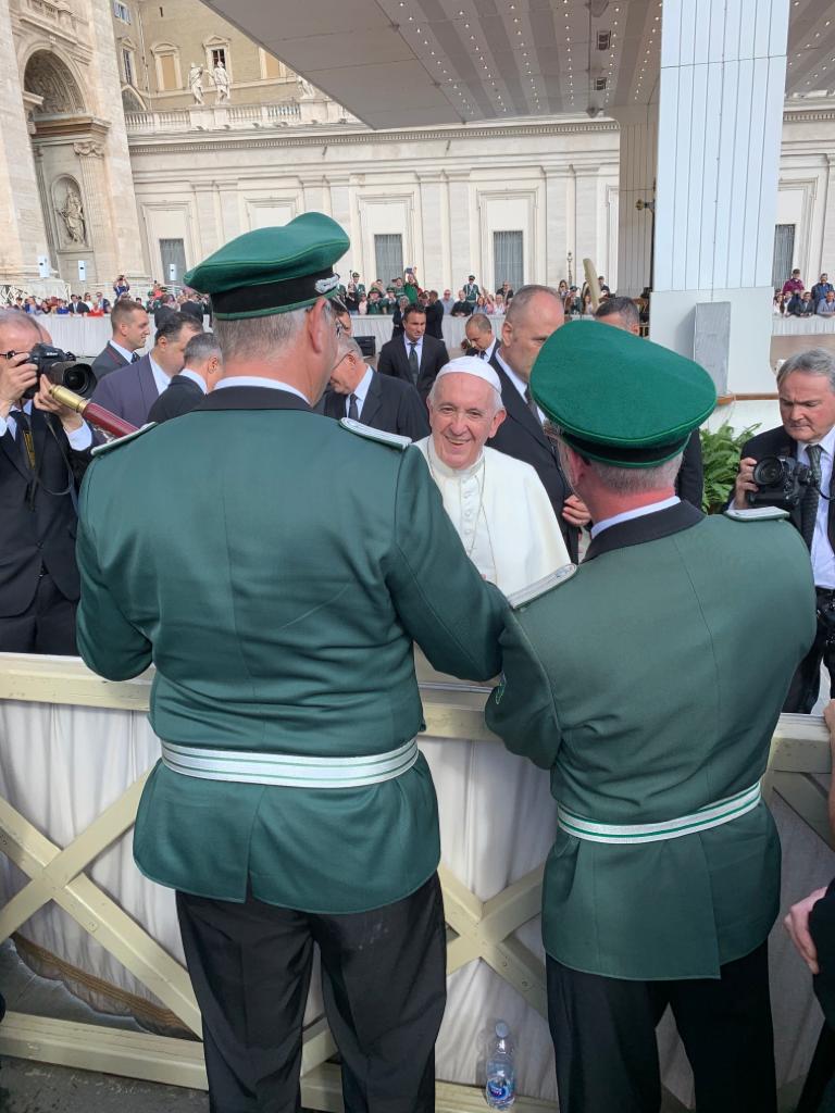 GSB – Tagebuch 16.10.19 – Papa Francesco